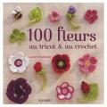 Livre 100 Fleurs au tricot et au crochet - 105