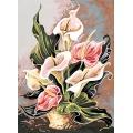 Canevas 45/60 antique harmonie rose - 150
