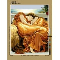 Canevas 60/80 antique flaming june - 150