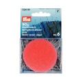 Épingle/piquer n°6 0.60x30mm acier argenté+pelote- - 17