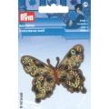 Motif brode papillon leoprint - 17