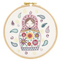 Anouchka, princesse russe - kit broderie - 215
