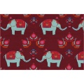 Cotton jersey elephant loveberry - 22