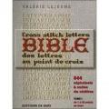 Livre la bible des lettres au point de croix - 254