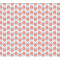 Tissu Panduro design 140 cm retro flower red - 26
