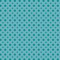 Tissu Panduro design 140 cm mosaic blue/green - 26