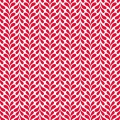 Tissu panduro design heartleaf red &white - 26