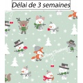 Tissu panduro design playful christmas - 26