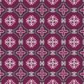 Tissu panduro design morocco wine - 26
