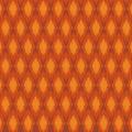Tissu panduro design rhomb orange - 26