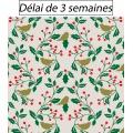 Tissu panduro design mistle & birds - 26