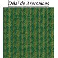 Tissu panduro design green twigs - 26
