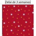Tissu panduro design starfall red - 26