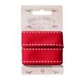 Ruban couture tilda rouge 25mm,3 metres - 26