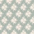 Tissu tilda x 1m sally blue green - 26
