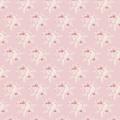 Tissu Tilda 35x50cm bird pink - 26
