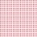 Tissu Tilda 35x50cm mini gingham red - 26