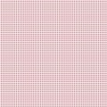 Coupon Tilda 50x55 cm mini gingham red - 26