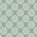Tissu Tilda 50x55 cm flower ball teal - 26