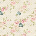 Tissu Tilda 50x55 cm cybill dove white - 26