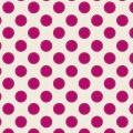 Tissu Tilda 50x55cm sewn spot carmine red - 26