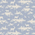 Tissu Tilda 50x55cm forest light blue - 26