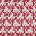 Tissu Tilda 110cm 1 mètre Candyflower red - 26