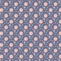 Tissu Tilda 50x55 cm susie stone blue - 26