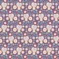 Tissu Tilda 50x55 cm Candyflower stone blue - 26