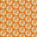 Tissu tilda 5m x 110 cm flower nest ginger - 26