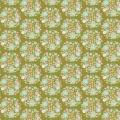 Tissu tilda 1m x 110 cm flower nest green - 26