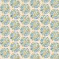 Tissu tilda 1m x 110 cm flower nest blue - 26