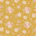 Tissu tilda 5m x 110 cm rosa mollis golden - 26