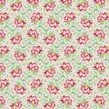 Tissu tilda 1m x 110 cm clown flower linen - 26