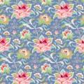 Tissu tilda 1m x 110 cm circus rose blue - 26