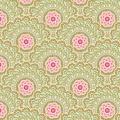 Tissu tilda 1m x 110cm cabbage flower green - 26