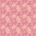 Tissu tilda 5m x 110 cm flower bush pink - 26