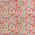 Tissu tilda 5mx110 cm lemontree boogie red - 26