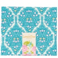 Tissu tilda 50x55 cm lemontree lemonade blue - 26