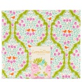 Tissu tilda 50x55 cm lemontree lemonade green - 26