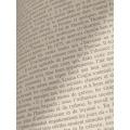 Coupon aïda 30x40 livre ouvert beige  - 282