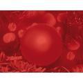 Coupon aïda 30x40 boule de noël rouge  - 282