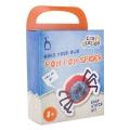 Kit Pom Pom Spider rouge-bleu - 346