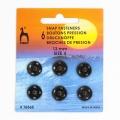 Pression 13mm(6) noir - 346