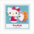 Kit au point compté hello kitty joue tambour aida - 4