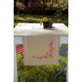 Chemin de table fleurs ludiques - 4