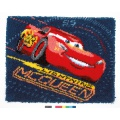 Tapis au point noué disney cars lightning mcqueen - 4