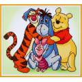 kit Diamond painting Disney Winnie 47x42 cm - 4