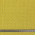 Tissu crépon à pois banane 100%coton laize 135cm - 44