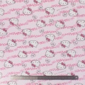 Tissu Hello Kitty oxford rose 100%coton L109cm - 468